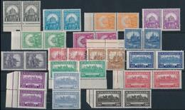 ** 1926 Pengő-fillér I. A Sor Párokban (50.000) (ráncok / Creases) - Timbres