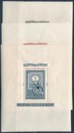 ** 1951 80 éves A Bélyeg Blokksor (45.000) - Timbres
