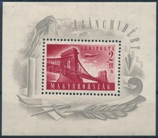 ** 1948 Lánchíd (I.) Blokk (30.000) - Timbres