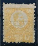 * 1871 Réznyomat 2kr Sárga (38.500) - Timbres