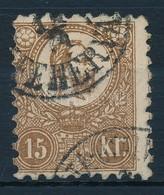 O 1871 Kőnyomat 15kr (29.000) - Timbres
