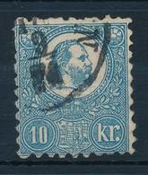 O 1871 Kőnyomat 10kr (26.500) - Timbres