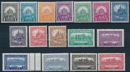 ** 1928 Pengő-fillér (I.) Sor (25.000) - Timbres