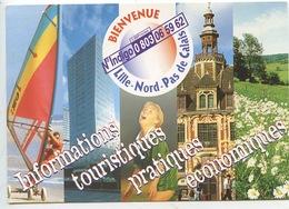 Lille Bienvenue Pendant La Coupe De Football 1998 - Indigo - Lille