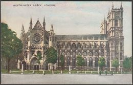 Westminster Abbey, London, C.1920s - Valentine's Valesque Postcard - Westminster Abbey