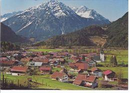 Oberdorf B. Hindelan Im Allgäu - Gesamtansicht   **AK-19983t** - Hindelang