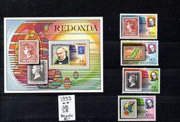 Montserrat ( Redonda) -  Satz  1979  Nr.25/28 + Block**  Mi.-8,00€ - Montserrat