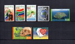 Africa Del Sur  2000  .-   Y&T  Nº   1118-1121/1122-1123-1125/1126-1127  (1122  Falta Punta) - África Del Sur (1961-...)