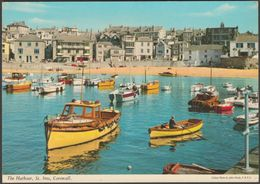 The Harbour, St Ives, Cornwall, 1974 - John Hinde Postcard - St.Ives