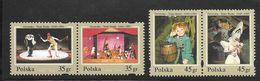 Poland - 1995 50th Anniversary Groteska Fairy Tale Theatre  - 4v MNH - 1944-.... República