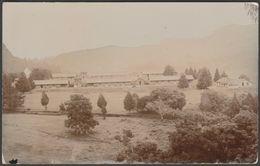 Hut Barracks, Probably British Army, C.1905-10 - RP Postcard - Postcards