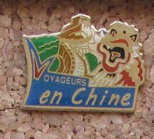 Pin's Voyageurs En Chine - Badges