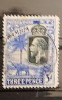 Gambie - 1922 3d Georges V Elephant Oblitéré - Gambie (...-1964)