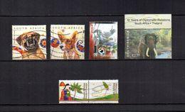Africa Del Sur  2003  .-   Y&T  Nº   1257/1258-1259-1265/1266-1268 - África Del Sur (1961-...)