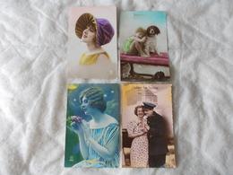 Lot De 4 Cartes Edition PC Paris Papeteries De Levallois Clichy - Cartes Postales