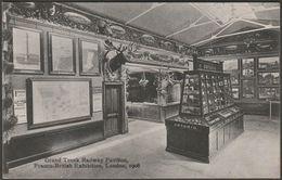 Grand Trunk Railway Pavilion, Franco-British Exhibition, 1908 - Valentine's Postcard - Exhibitions