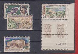 Afrique Occidentale Française / Lot De Timbres - Unused Stamps