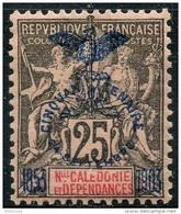 Nouvelle Caledonie (1903) N 75 * (charniere) - Unused Stamps