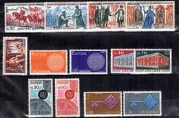 Andorre Petite Collection Neufs ** MNH 1955/1969. Bonnes Valeurs. TB. A Saisir! - Unused Stamps