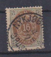 Danemark /  N 26 B / 16 Ore Gris / Oblitéré - Usati