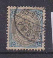 Danemark /  N 22 A / 3 Ore Bleu / Oblitéré - Ungebraucht