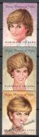Marshall 1997 Yvert 836-38, Tribute To Diana, Princess Of Wales - MNH - Marshalleilanden
