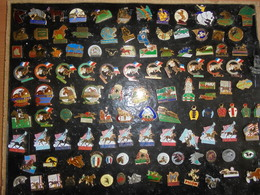 "LOT DE 114 PIN'S THEME    "" CHEVAUX- PMU -HARAS"" - Badges"
