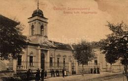 ** T2/T3 Szamosújvár, Gherla; Örmény Katolikus Leányárvaház. No. 413. / Armenian Catholic Orpahange For Girls (fl) - Cartes Postales