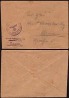 Ostland. Lithuania 'SS-Polizeigericht XVI - Aussenstelle Kauen' Auf Dienstpostbrief Von Kauen / Kaunas. - Besetzungen 1938-45