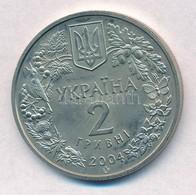 Ukrajna 2004. 2H Cu-Ni-Zn 'Azovi Delfin' T:1- Ukraine 2004. 2 Hryvni Cu-Ni-Zn 'Azov Dolphin' C:AU Krause KM#201 - Unclassified