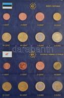 2000-2015. Euro Sorok 2db Albumba Rendezve (19xklf) Benne Észtország, Lettország, Szlovénia, Belgium, Írország, Spanyolo - Unclassified