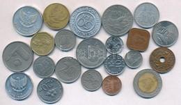 22db Különböző Fémpénz, Benne Brunei, Indonézia, Malajzia T:2,2- 22pcs Of Different Coins, Including Brunei, Indonesia,  - Unclassified