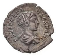 Római Birodalom / Róma / Geta 200-202. Denár Ag (3,14g) T:2 Ki. Roman Empire / Rome / Geta 200-202. Denarius Ag 'P SEPT  - Unclassified
