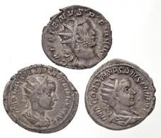 Római Birodalom / Róma / III. Gordianus 238-244. Antoninianus Ag (4,69g) + 238-239. Antoninianus Ag (3,02g) + Lugdunum / - Unclassified