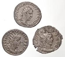 Római Birodalom / Antiokheia / Traianus Decius 249-251. Antoninianus Ag (3,9g) + Róma / Gallienus 256-257. Antoninianus  - Unclassified