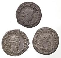 Római Birodalom / Antiokheia / Trebonianus Gallus 252-253. Antoninianus Ag (4,5g) + Róma / Volusianus 251-253. Antoninia - Unclassified