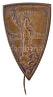 1946. 'Szent Gellért 1046-1946' Br Lemezkitűző T:2 Hajlott Tű - Unclassified