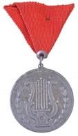 1955. 'Vasipari Szövetség Felszabadulási Kulturverseny 1955. III. 20-27.' Fém Sportérem Szalaggal (40mm) T:2,2- Ph. - Unclassified