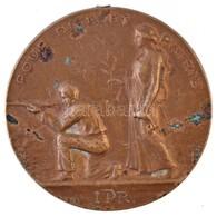 Franciaország 1926. 'Pour Dieu Et Patrie (Istenért és Hazáért)' Fém Lövészeti Sportérem (40mm) T:2- Szennyeződés, Fülnyo - Unclassified