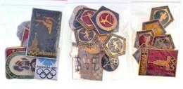 Szovjetunió 1980. 25db-os 'Moszkvai Olimpia' Jelvény Tétel (22xklf) T:2 Soviet Union 1980. 25pcs Of 'Moscow Olympics' Ba - Unclassified