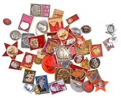 Szovjetunió DN Lenin-jelvény Tétel (42xklf) T:2 Soviet Union ND Lenin Badge Lot (42xdiff) C:XF - Unclassified