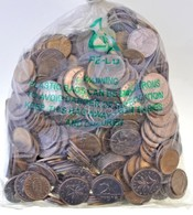 Vegyes Fémpénz Tétel Nagyrészt 1993-2004. Közötti 1 és 2Ft-os érmék, 1Kg összsúlyban T:vegyes - Unclassified