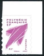 POLYNESIE 2012 - Yv. 990 ** SUP Cdf  Cote= 4,00 EUR - Emblème Postal Autoadhésif Issu Du Carnet C990  ..Réf.POL23420 - Neufs