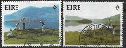 Irlande 1975 N°324/325 Oblitérés Championnat D'Europe De Golf - 1949-... Republik Irland