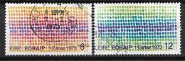 Irlande 1973 N°289/290 Oblitérés Marché Commun - 1949-... Republik Irland