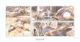 HERMANN : Exlibris Librairie DURANGO 1997 (ns) - Illustrators G - I