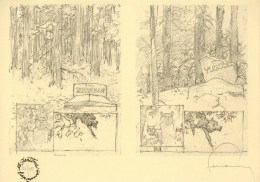 HERMANN : Exlibris Librairie FANTOME ESPAGNOL 1995 (ns) - Illustrators G - I