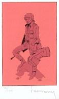HERMANN : Exlibris Librairie LA MARGE 1988 (ns) - Illustrators G - I