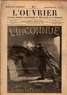 Journal L'Ouvrier. Journal Illustré Paraissant Tous Les Samedis.du 2 Mai 1903 Au 11 Novembre Relié N°1 Au N°56 - Books, Magazines, Comics