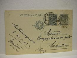 S. ARCANGELO  DI ROMAGNA  -- FORLI'   ---  ANNULLO  MECCANICO DI LOCALITA'-- SU DOCUMENTO POSTALE - Italia